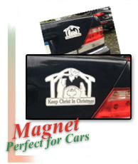 Magnet is great for cars and other metal surfaces